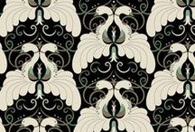 Surface Design - Fabric, Wallpaper, Vintage Textile / Being a textile designer, I have a true passion for repeating passion always leaning towards vintage.
