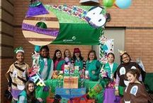 Bling Your Booth Ideas / Let's celebrate 100 years of Girl Scouts selling cookies!  Our biggest cookie milestone yet is here. That's right! 2017 marks the 100th anniversary of the first known sale of cookies by Girl Scouts, and we're so ready to celebrate!