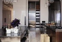 For the Home: Kitchen Designs / #kitchen #sinks #pantry