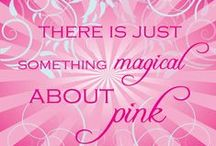 Pretty in PINK.... / Pink makes me smile....
