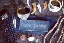 M Y | J E W E L R Y / Please visit www.rachelolesker.com for prices and details