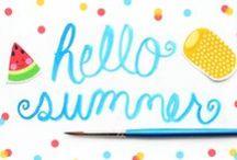 Lazy, Hazy, Crazy Days of Summer / Summer, the Laid Back Season!