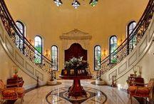 Home, Grand Entrances! / Luxury home entrances, and hallways!