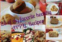 My Favorite Fall Recipes / The season change and as much as I love summer, I love Fall produce!  Give me apples and pumpkins everyday!!