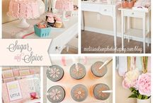 PARTY IDEAS // BABY GIRL THEMED