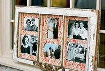 frame it / clever ideas for framing and photos