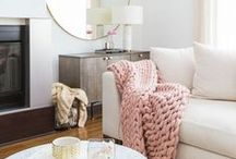 Living Room Decor Ideas / This board features a stylish and eclectic mix of living room decor ideas, from mid-century modern to country cottage, Scandinavian design and feminine decor on a budget - apartment, DIY, interior design, interior design ideas, rental decor, decorating on a budget, decor ideas