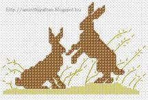 Cross stitch pattern ( Easter )