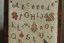 Cross stitch ( autumn, halloween ) / cross stitch
