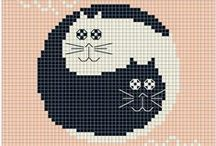 Cross stitch ( animals ) / cross stitch