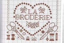 Cross stitch ( brode, mode, Paris ) / cross stitch