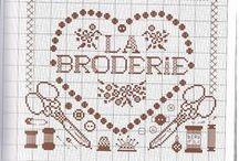 Cross stitch ( brode, mode, Paris ) / cross stitch