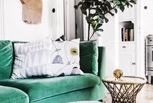 Bohemian Interior Inspiration / A collection of ideas and suggestions on how to create a bohemian inspired home. From multi award-winning home decor & interior design blog Apartment Number 4, designed to help you create a beautiful home on a budget.