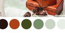 Color Palettes / Цветовые сочетания и схемы