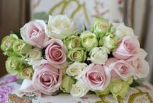 Flowers I love / by ShabbyPinkGirl