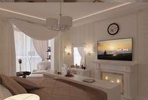Bedroom Ideas / Dreamy bedroom inspiration