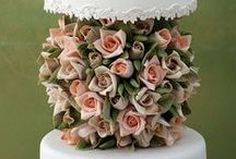Delectable Wedding Cakes / Wedding Cakes are as special as the Bridal dress, when you see it you know it. Take a bite! / by DelectableDesserts