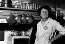 """Cook / """"This is my invariable advice to people: Learn how to cook - try new recipes, learn from your mistakes, be fearless and above all have fun.""""  - Julia Child / by Janice W"""