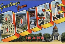 Boise Advertising Agencies / Boise, Idaho. More than just mountains, air and Senators. Don't forget to visit the other cities. Click on my name. / by Peter Levitan