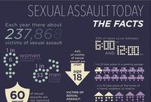 Learn More / Every 107 seconds another American is sexually assaulted. Sexual violence is a complex issue that affects many aspects of a survivor's life. Check out these pins to learn more.