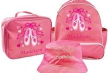 Personalised Ballet and Dance / Beautiful personalised items for budding young Ballarinas and Dancers!