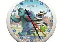 Personalised Clocks / Choose from a wide range of personalised clocks for boys and girls alike