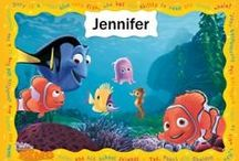 Personalised Finding Nemo / Personalised storybook, clock and more
