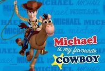 Personalised Toy Story 2 & 3 / Lots of personalised items such as books, clocks, backpacks and more