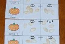 Halloween Theme for Preschool and Kindergarten / Playful Learning Activities for a HALLOWEEN THEME in Preschool and Kindergarten