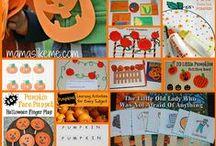 Pumpkin and Jack-o-Lantern Activities for Kids / Pumpkin Literacy, Math, Science, Play, Arts & Crafts, and Foods/Food Crafts for Kids