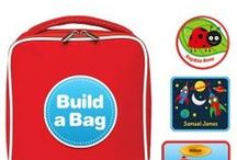 Personalised Lunch Bags / A lunch bag for school, a picnic or a journey