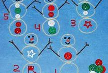 Christmas Learning Activities for Preschool and Kindergarten / Literacy, Math, Science, Sensory, and PLAYFUL learning activities for a CHRISTMAS THEME in Preschool and Kindergarten