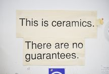 Foundation Ceramics / Fun Pinterest Board for the Foundation Short Course in Ceramics at Grays School of Art