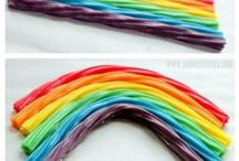 Somewhere Over the RAINBOW - all things rainbow for kids! / Rainbow Foods, Crafts, Party Ideas, and Education Ideas for Kids!