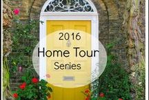 2016 Spring Home Tours / 30 Beautiful Homes full of diy and decor inspiration.