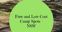 NSW - Free/Low Cost Camp Spots / Free and Low Cost Camp Spots in NSW