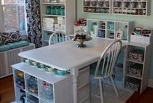 Craft Spaces / Photos of great crafting rooms and spaces