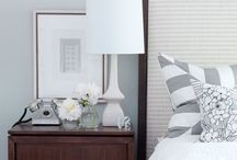 Master bedroom decor ideas / Creating a beautiful, restful and calm master bedroom.