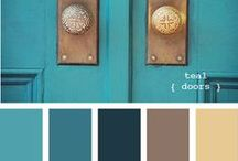 Color Inspiration / by Becky Currie
