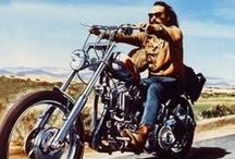 Famous Riders / They are famous bikers and we cannot get enough of them. Enjoy some of the most stunning photos of famous men and women who make riding sexy and cool.