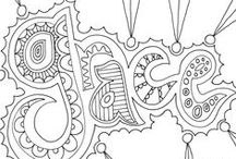 coloring pages / by Abby Grove