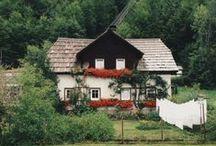 Wiejskie chatki