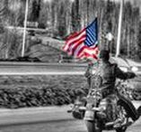 Born in the USA / Red, white, and blue! Follow this board if you are a proud American biker.