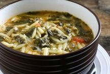 Soup Recipes / Warm and healthy soups. Great recipes for a chilly day