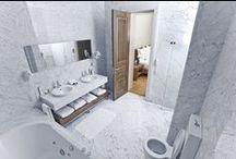 Bianco Carrara Marble / Inspiration Italiensk Marmor Bianco Carrara