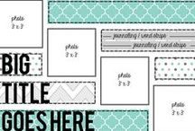 Craft - scrapbook layouts