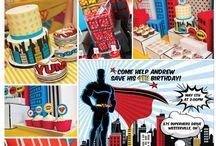 Celebrate : Super Hero Party / by Christie McCullough