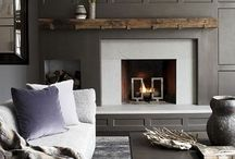 Fireplace / by Christie McCullough
