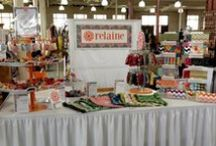 Craft shows. / I love to do craft shows.  It gives me a chance to meet my fantastic customers!