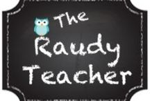 The Raudy teacher! / Here are products from my tpt the raudy teacher! Also posts from my blog. / by Shauna Rau